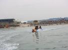 Le fort et la plage